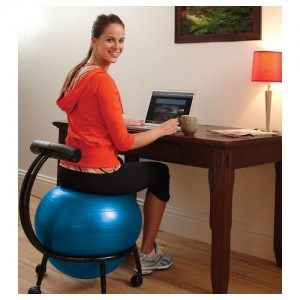 Gaiam Custom Fit Balance Ball Chair