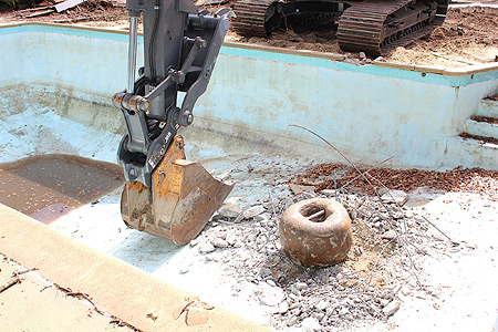 Hiring a Pool Demolition Company