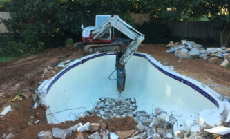 pool removal