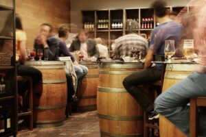 barrel tapas wine